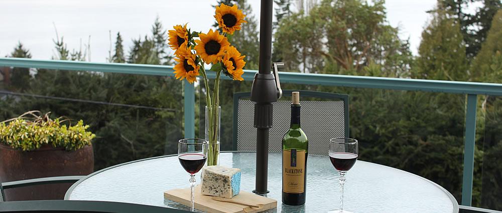 outside patio table